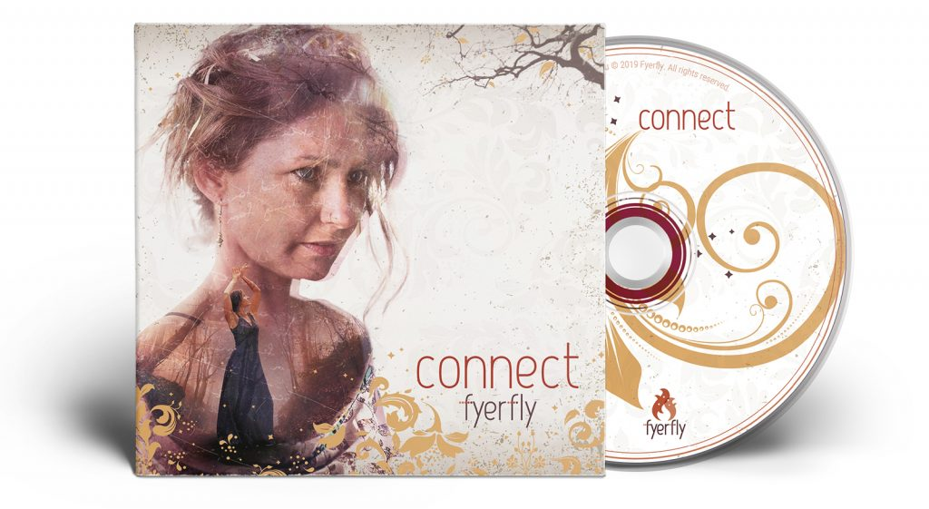 Fyerfly - Connect - Deluxe Digipak CD with Lyric Book