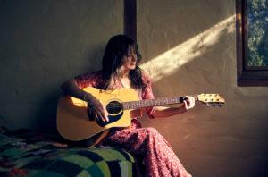 Fyerfly guitar. Photo: Larry Vila Pouca